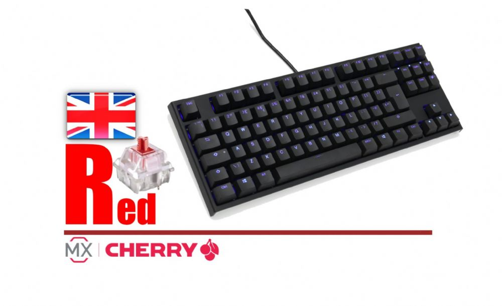 Ducky Channel One2 Blue Backlit TKL DKON1887S-RUKPDAZB1
